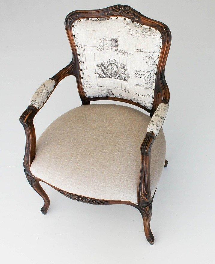 white designer chair