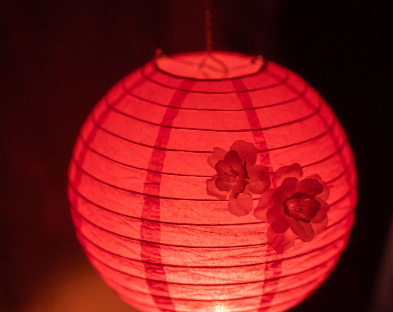lighted circluar decorative element image