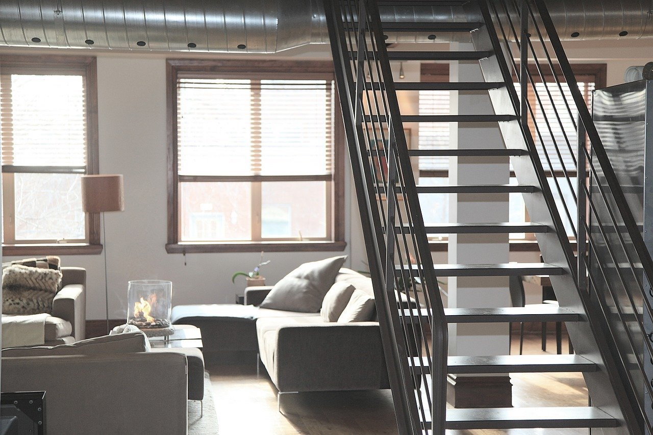image of a room staircase