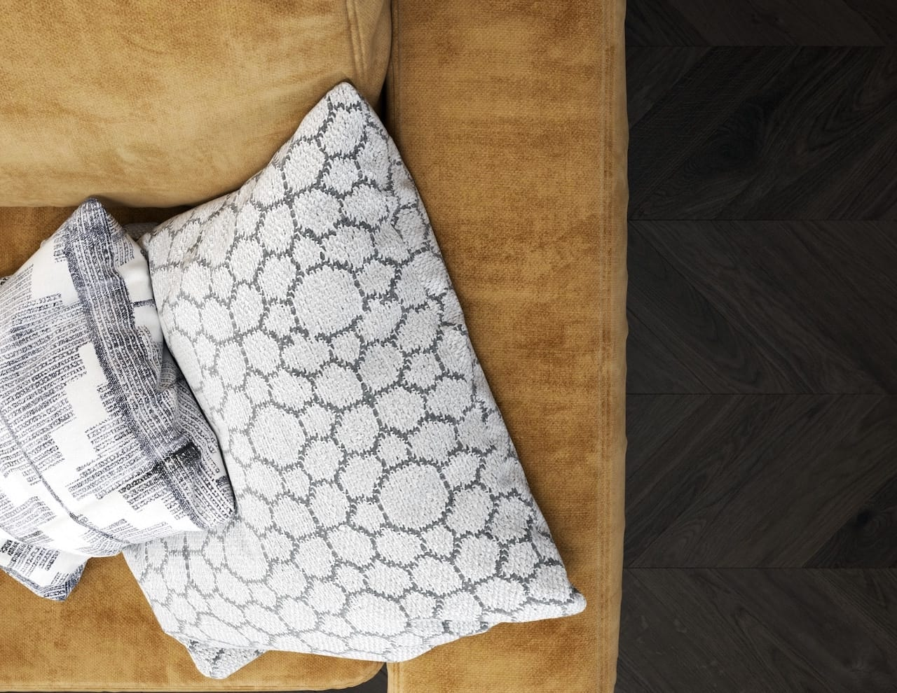 image of pillows with patterns