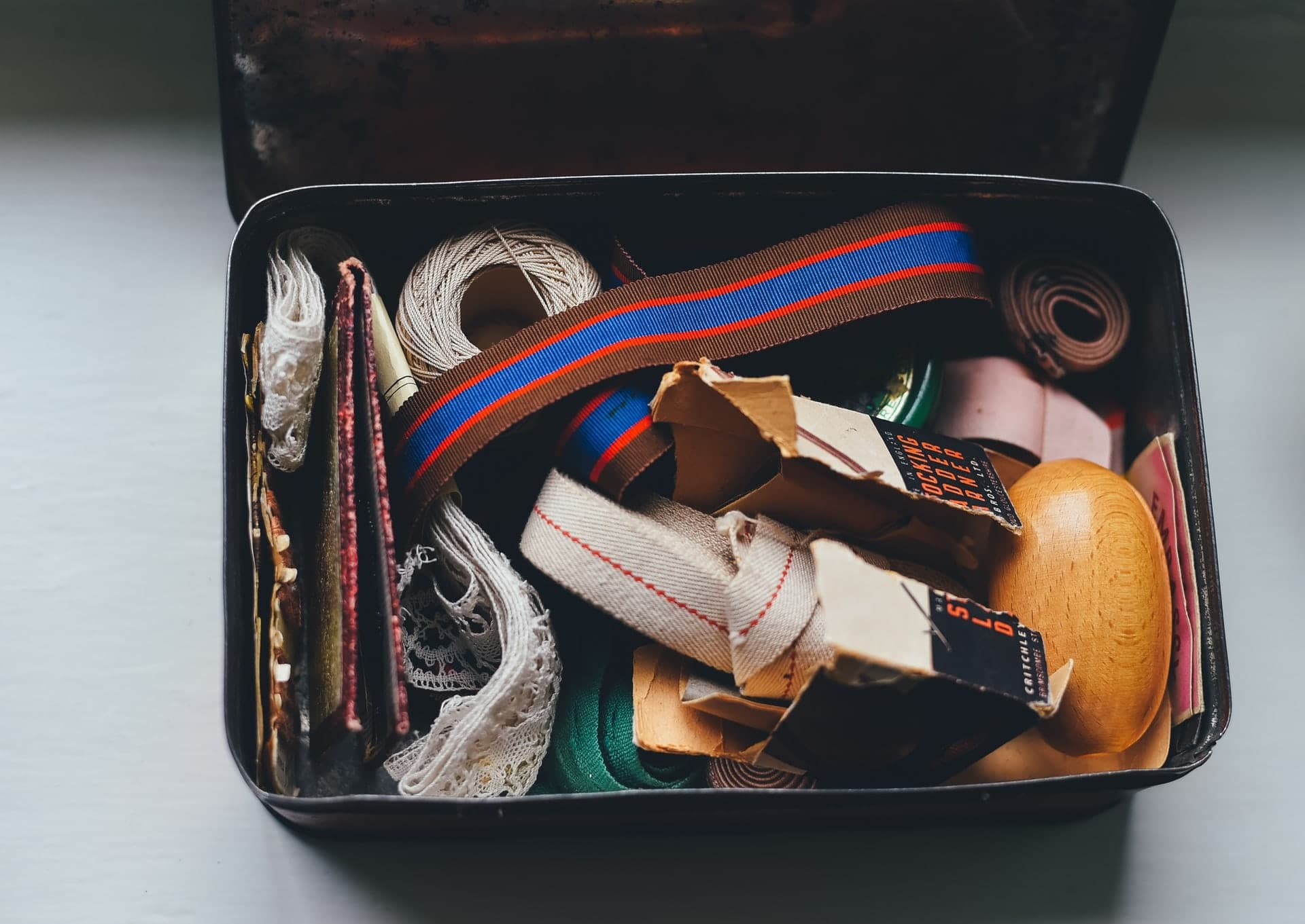 image of a bag with stuff