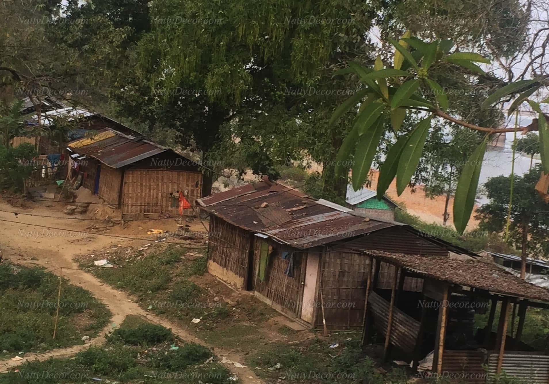 image of a hut
